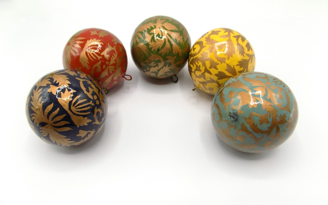 St Paul's Cathedral Fair Trade Kashmir Baubles