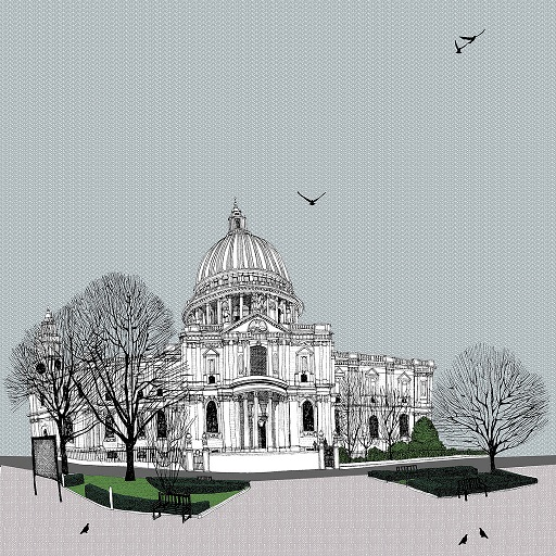 St Pauls by Clare Halifax