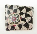 Brooch - Flower Mosaic