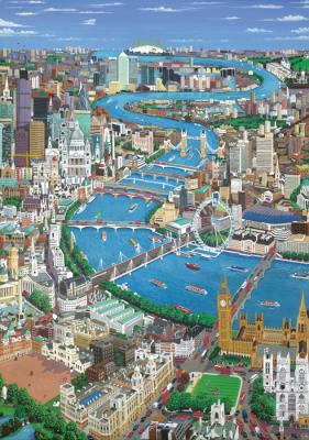 Jigsaw - London Thames (S)